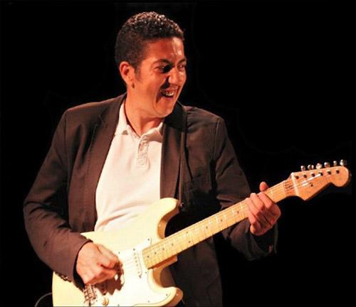 Bader Gharzouli guitariste de Max'S N'Dier